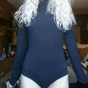 Other - Backless black body suit